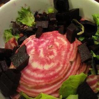Beetroot and Balsamic Salad.