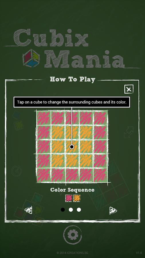 Cubix Mania Lite - screenshot
