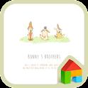 bunny brothers dodol theme icon