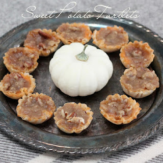 Sweet Potato Tartlets | Favorite Fall Hors d'oeuvres.