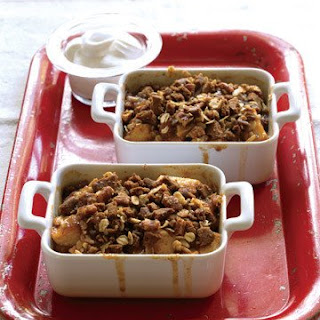 Apple, Date, and Ginger Crisp