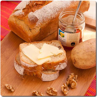 Potato Walnut Bread Recipe