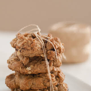 Maple Oat Chocolate Chip Cookies.
