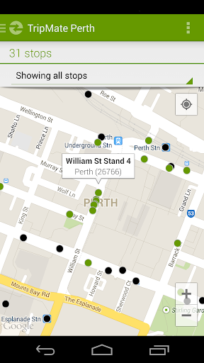 TripMate Perth Transit App
