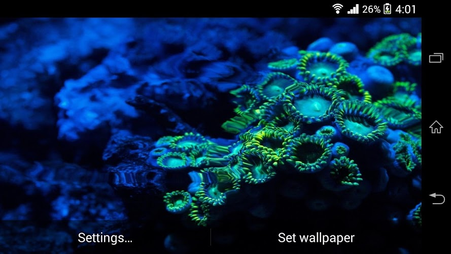 Galaxy S5 HD Live Wallpaper Android App Screenshot