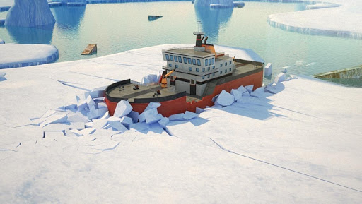 Icebreaker Boat Parking Game