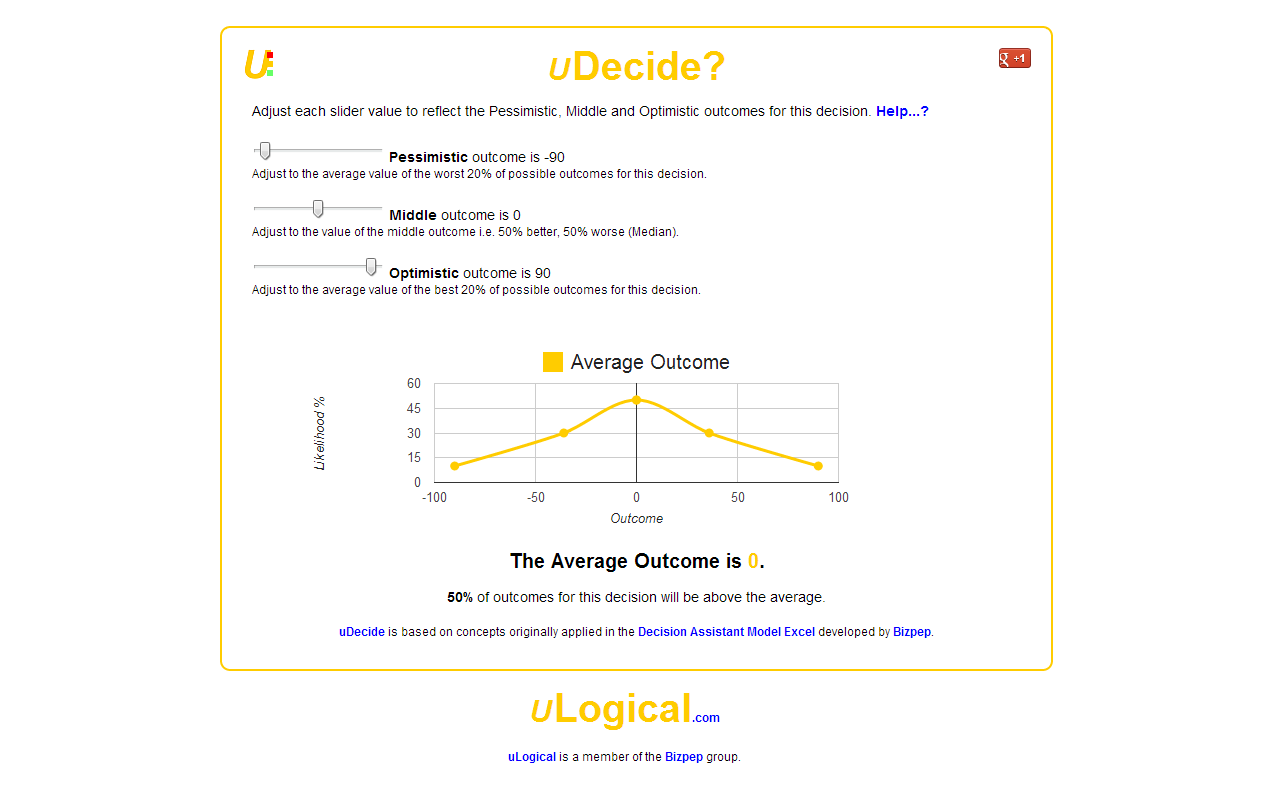 uDecide- screenshot