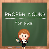 Proper Nouns For Kids