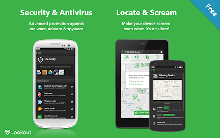 Lookout Security & Antivirus Screenshot 1