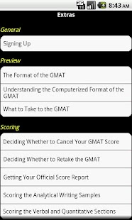 GMAT Practice For Dummies - screenshot thumbnail