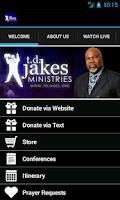 Screenshot of Bishop T.D. Jakes Ministries
