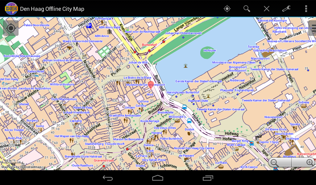 The Hague Offline City Map Android Apps on Google Play – The Hague Tourist Map