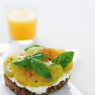 Ricotta and Tomato Toast