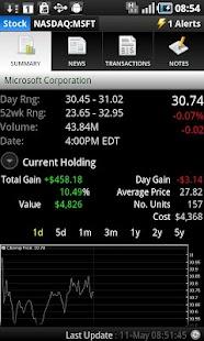 Portfolio Tracker (Stocks) - screenshot thumbnail