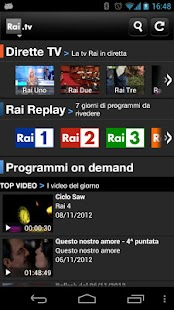 Rai TV - screenshot thumbnail