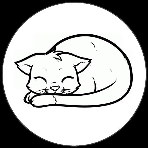 Purring Cat LOGO-APP點子