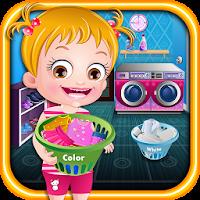 Baby Hazel Laundry Time 5