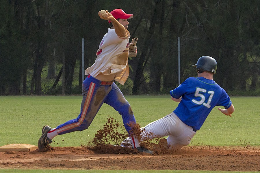 Go for a Double play by Cheryl Waring - Sports & Fitness Baseball (  )