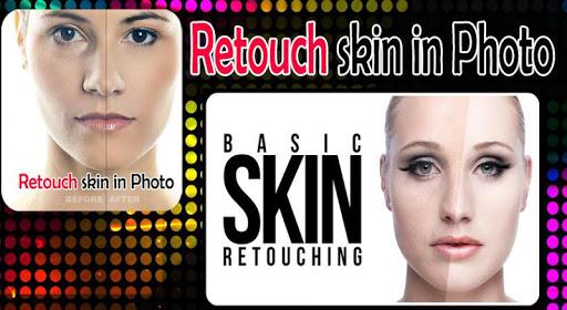 Retouch skin in Photo