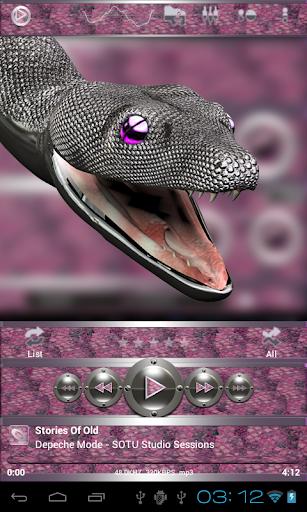 后皮肤粉色蛇 生活 App-愛順發玩APP