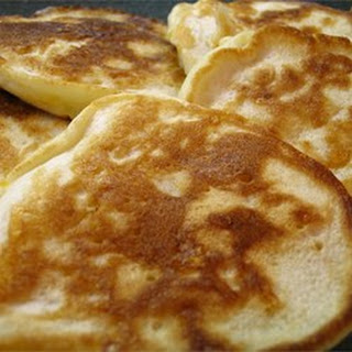 Golden Penny Pancakes.
