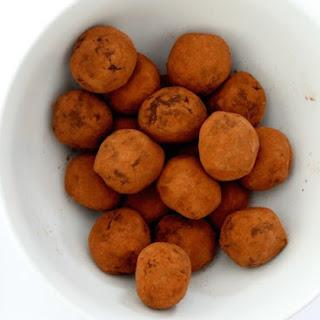 Black Bean Dark Chocolate Truffles