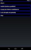 Screenshot of English Idioms