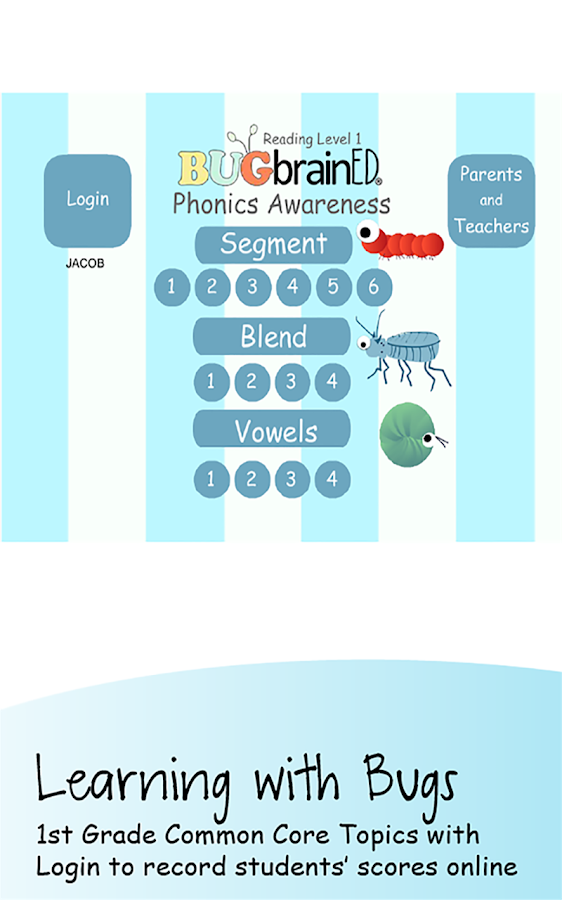 Phonics Awareness- screenshot