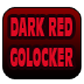 DARK RED GOLOCKER