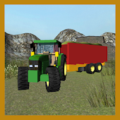 Farm Silage Transporter 3D