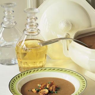 Chestnut-Mushroom Soup.