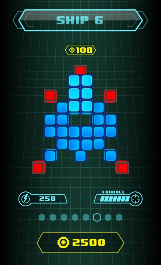 Retro Grid- screenshot