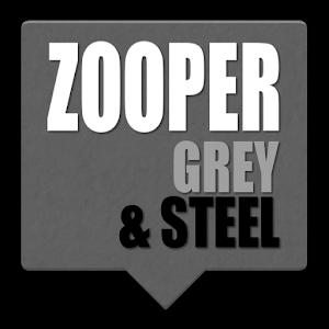 Zooper Grey & Steel APK