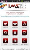 Screenshot of IMS 2012