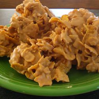 Frosted Corn Flake Cereal Clusters.