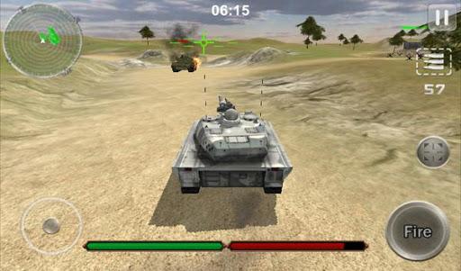 坦克戰爭罷工3D