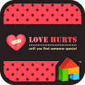 love hurts dodol theme icon