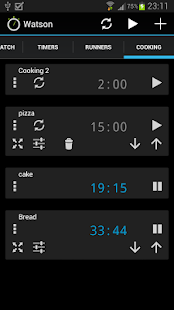 Watson Stopwatches and Timers - screenshot thumbnail