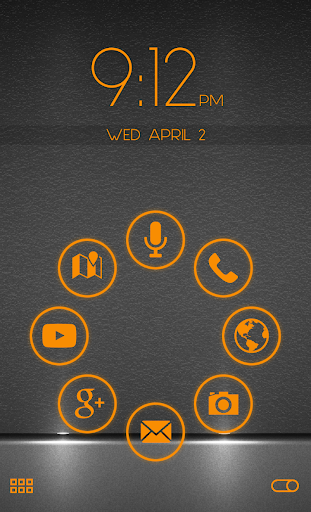 Stamped Orange SL Theme