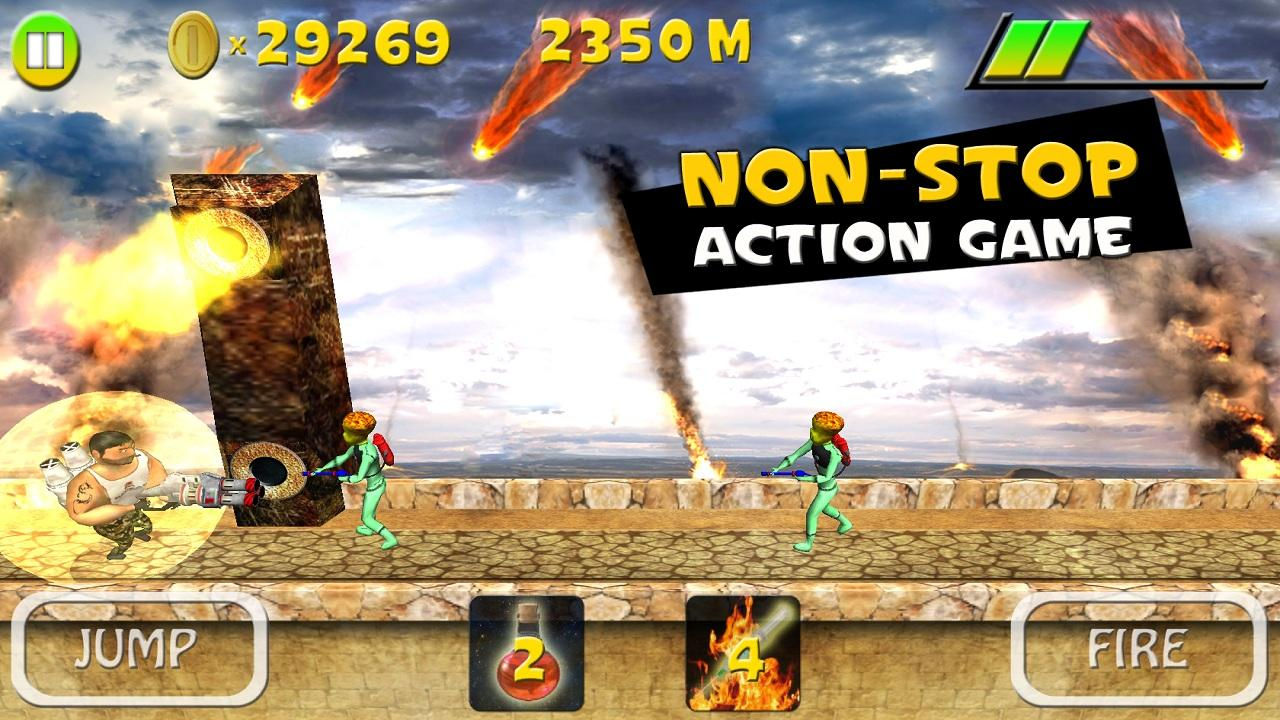 Mars Smash - Running Game - screenshot