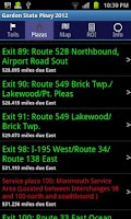 Screenshot of Garden State Parkway 2014