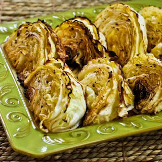 Roasted Cabbage with Lemon.