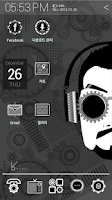 Screenshot of HD cyborg man_ATOM theme