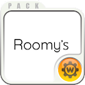 Roomy's search widget set icon