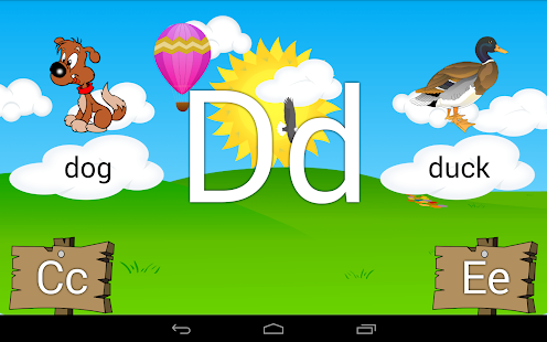 Learn the Alphabet Kids ABCs- screenshot thumbnail