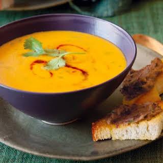 Creamy Mexican Carrot Soup.