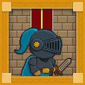 Pixel Block Knight Dragons War