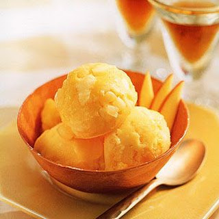 Mango and Pineapple Sorbet