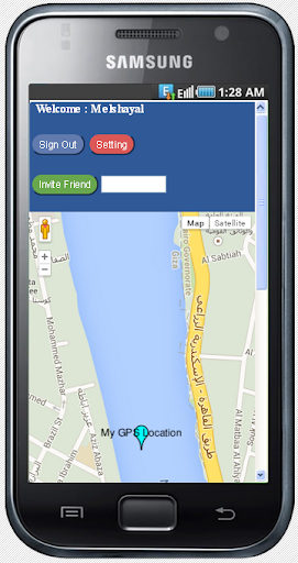 GPS Tracking Google Map