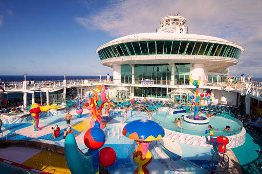 Freedom-of-the-Seas-H2O-Zone - The kids can splash and play in the H2O Zone Water Park aboard Freedom of the Seas.